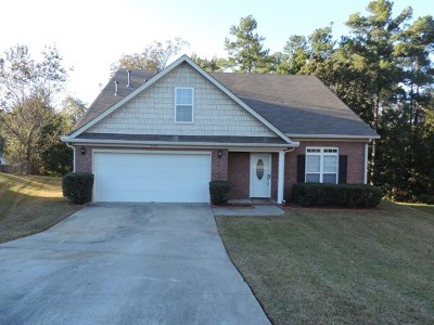 Grovetown Single Family Home For Sale: 4004 Nantucket Circle