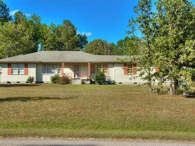 Grovetown Single Family Home For Sale: 5619 Dawson Road