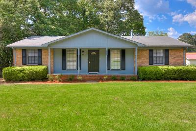 Hephzibah Single Family Home For Sale: 3503 Stafford Street