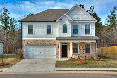 Grovetown GA Single Family Home For Sale: $251,350