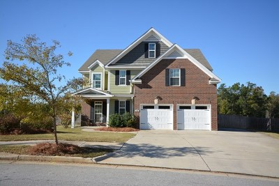 North Augusta Single Family Home For Sale: 73 Blair Drive