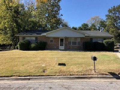 Augusta Single Family Home For Sale: 3407 Covington Drive