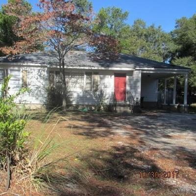 Augusta Single Family Home For Sale: 3217 Alpine Road