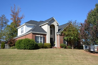 Evans Single Family Home For Sale: 1118 Waltons Pass