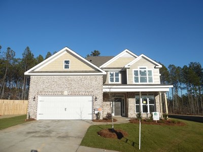 Grovetown Single Family Home For Sale: 707 Baylor Drive