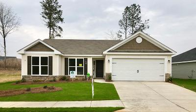 Grovetown Single Family Home For Sale: 3237 Alexandria Drive