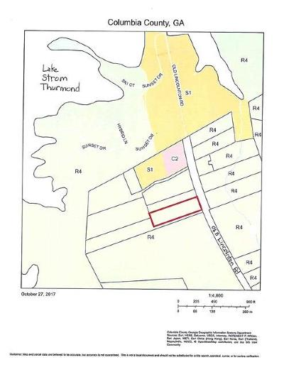 Appling Residential Lots & Land For Sale: 4202 Old Lincolnton Road
