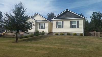 North Augusta Single Family Home For Sale: 33 Maui Lane