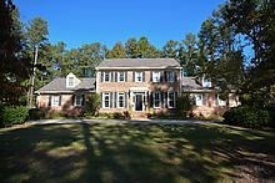 Augusta Single Family Home For Sale: 3407 Wheeler Road