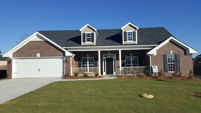 Hephzibah Single Family Home For Sale: 4734 Weldon Adams Drive