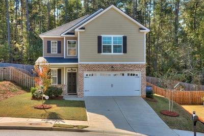Grovetown Single Family Home For Sale: 742 Mural Lake Court