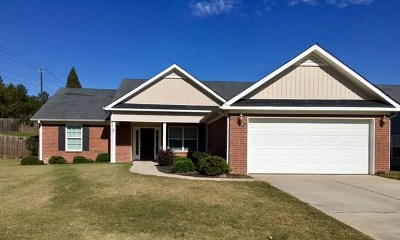 Grovetown Single Family Home For Sale: 4801 High Meadows Drive