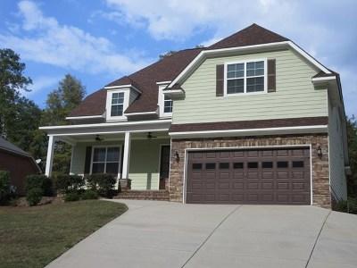 Evans Single Family Home For Sale: 2229 Millshaven Trail