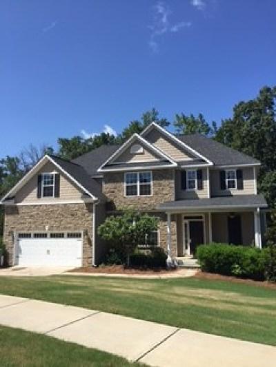 Evans Single Family Home For Sale: 508 Jutland Way