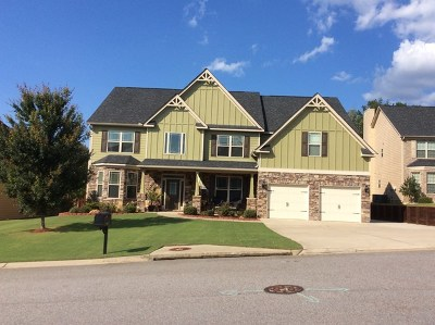 Grovetown Single Family Home For Sale: 723 Old Indian Camp Road