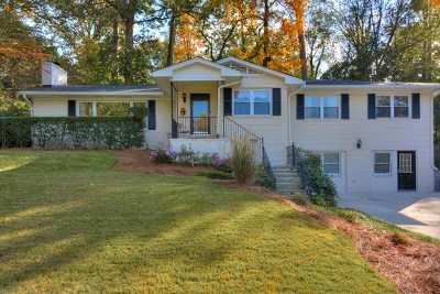 Augusta Single Family Home For Sale: 2222 Huntington Road