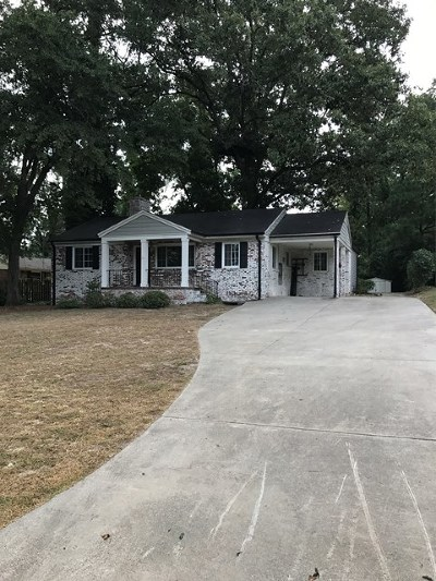 North Augusta Single Family Home For Sale: 1851 Robin Road
