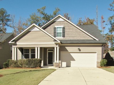 Grovetown Single Family Home For Sale: 2606 Waites Drive