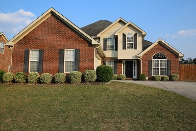 Grovetown Single Family Home For Sale: 7629 Senators Ridge Drive