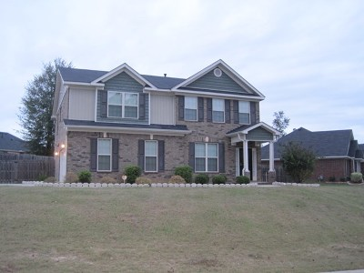 Hephzibah GA Single Family Home For Sale: $249,000