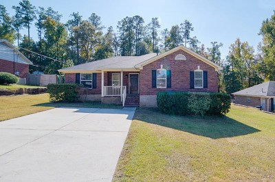 Hephzibah Single Family Home For Sale: 1025 Cedarview Circle