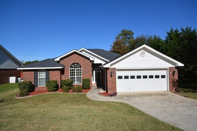 Grovetown Single Family Home For Sale: 651 Monroe Street