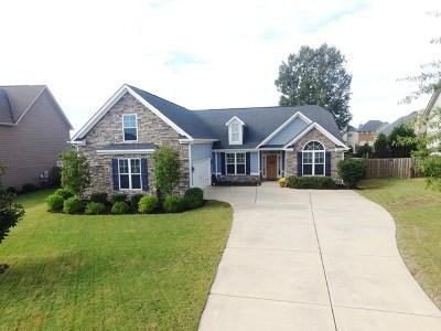 Evans Single Family Home For Sale: 1248 Berkley Hills Pass