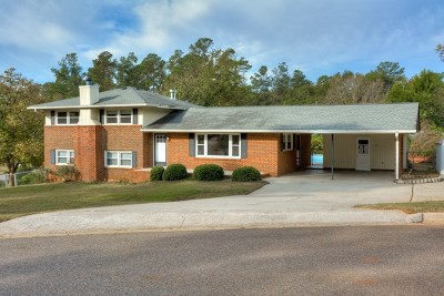North Augusta Single Family Home For Sale: 107 Horseshoe Road