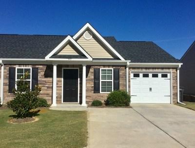 Augusta Single Family Home For Sale: 417 York Lane
