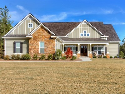 Appling Single Family Home For Sale: 5055 Travertine Drive
