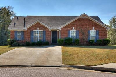 Augusta Single Family Home For Sale: 4416 Hatteras Drive