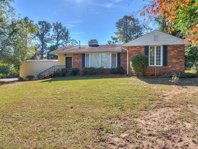 Augusta Single Family Home For Sale: 2208 Glendale Road