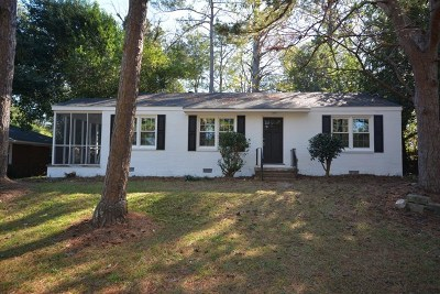 Augusta Single Family Home For Sale: 1202 Azalea Drive