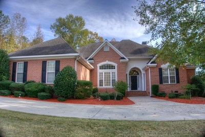 Evans Single Family Home For Sale: 3512 Greenway Drive