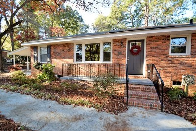 Aiken Single Family Home For Sale: 3 Winthrop Drive