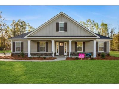 Richmond County Single Family Home For Sale: 3428 Walker Creek