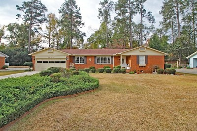Augusta Single Family Home For Sale: 1728 Goshen Road