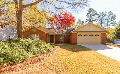 Evans Single Family Home For Sale: 4582 Mulberry Creek Drive