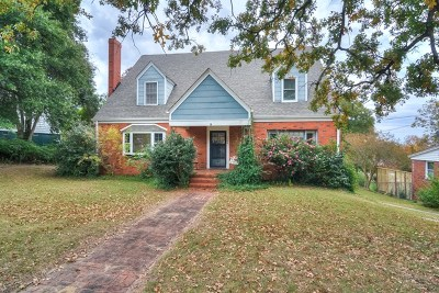 North Augusta Single Family Home For Sale: 1005 George Avenue