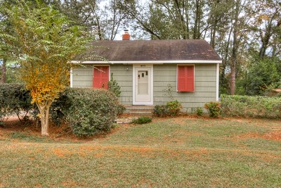 North Augusta Single Family Home For Sale: 655 Hutchinson Drive