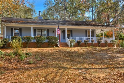 Augusta Single Family Home For Sale: 4078 Burning Tree Lane
