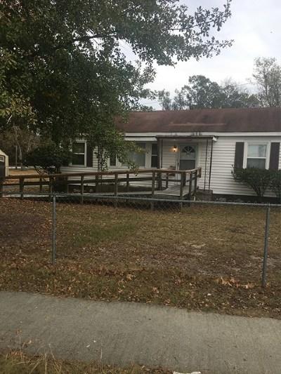 Augusta GA Single Family Home For Sale: $52,000