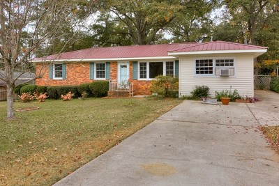 North Augusta Single Family Home For Sale: 1014 Fairfield Avenue