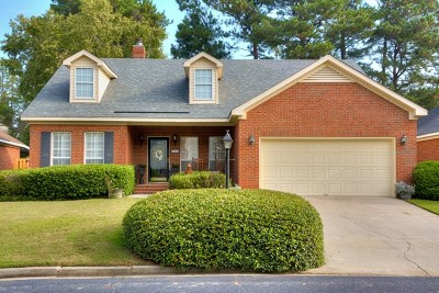 Augusta Single Family Home For Sale: 504 Folkstone Circle