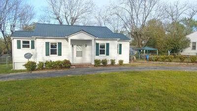 Edgefield County Single Family Home For Sale: 215 Pecan Street