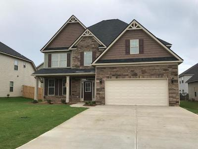 Grovetown Single Family Home For Sale: 1404 Calumet Drive