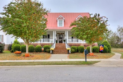 North Augusta Single Family Home For Sale: 131 River Club Lane