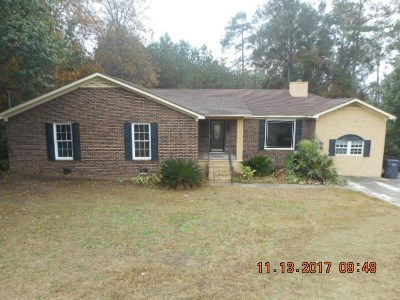 Richmond County Single Family Home For Sale: 2968 Bridgeport Drive