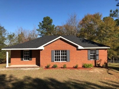 Hephzibah Single Family Home For Sale: 4509 Rambling Rose Circle N