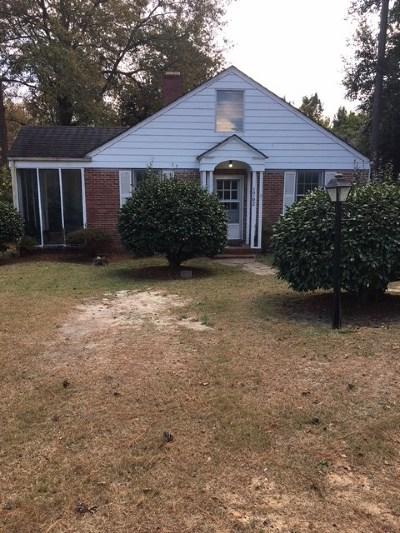 Augusta Single Family Home For Sale: 1762 Pine Tree Road